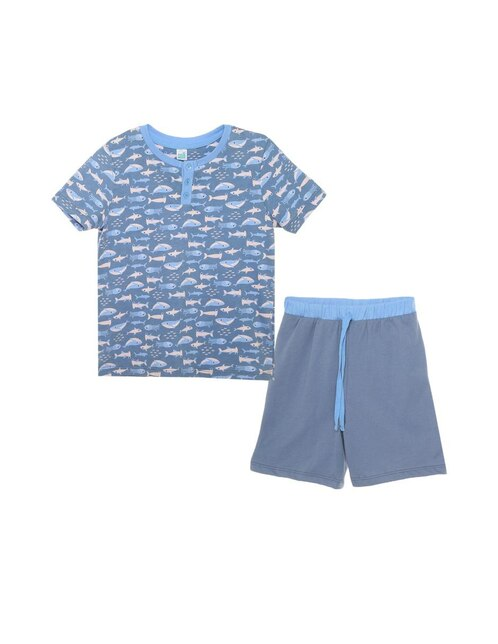 Espantar radio Amigo  Pijama Piquenique algodón para niño en Liverpool